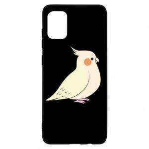Etui na Samsung A31 Cute parrot