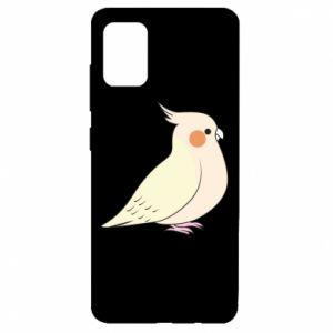 Etui na Samsung A51 Cute parrot
