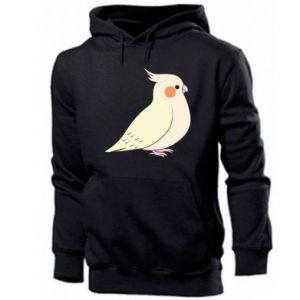 Bluza z kapturem męska Cute parrot