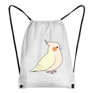 Plecak-worek Cute parrot