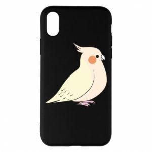 Etui na iPhone X/Xs Cute parrot