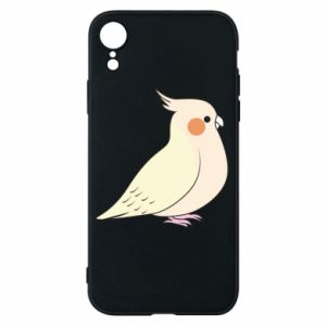 Etui na iPhone XR Cute parrot