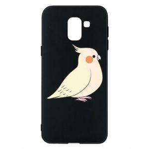 Etui na Samsung J6 Cute parrot