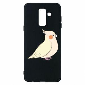 Etui na Samsung A6+ 2018 Cute parrot