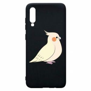 Etui na Samsung A70 Cute parrot