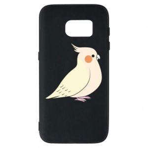 Etui na Samsung S7 Cute parrot