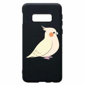 Etui na Samsung S10e Cute parrot