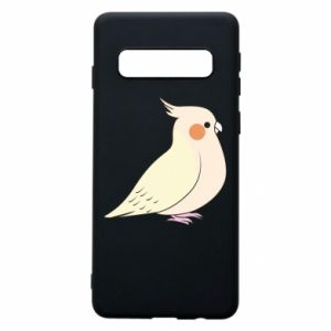 Etui na Samsung S10 Cute parrot