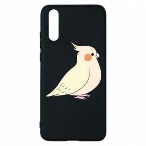 Etui na Huawei P20 Cute parrot