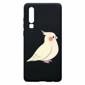 Etui na Huawei P30 Cute parrot