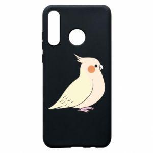 Etui na Huawei P30 Lite Cute parrot