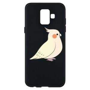 Etui na Samsung A6 2018 Cute parrot