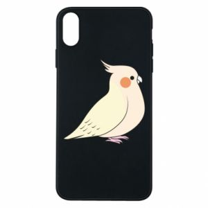 Etui na iPhone Xs Max Cute parrot