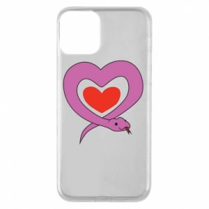 Phone case for iPhone 11 Cute snake heart