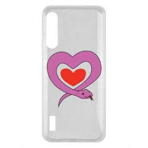 Etui na Xiaomi Mi A3 Cute snake heart