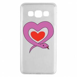 Etui na Samsung A3 2015 Cute snake heart