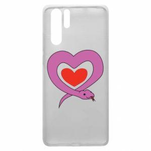 Etui na Huawei P30 Pro Cute snake heart
