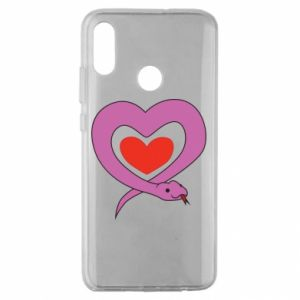 Etui na Huawei Honor 10 Lite Cute snake heart