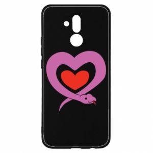 Etui na Huawei Mate 20 Lite Cute snake heart