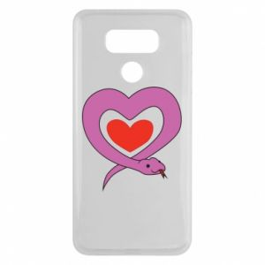 Etui na LG G6 Cute snake heart