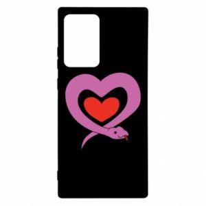 Etui na Samsung Note 20 Ultra Cute snake heart