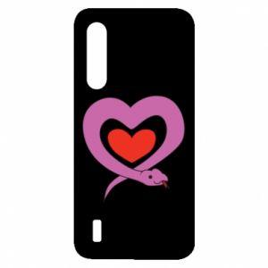 Etui na Xiaomi Mi9 Lite Cute snake heart