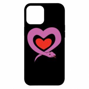 Etui na iPhone 12 Pro Max Cute snake heart