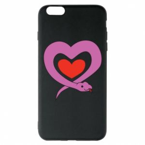 Phone case for iPhone 6 Plus/6S Plus Cute snake heart