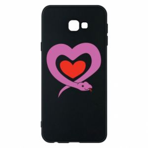 Phone case for Samsung J4 Plus 2018 Cute snake heart