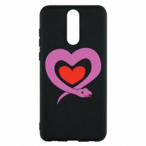 Etui na Huawei Mate 10 Lite Cute snake heart