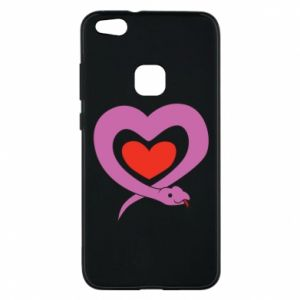 Phone case for Huawei P10 Lite Cute snake heart