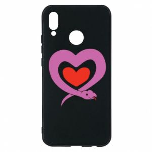 Phone case for Huawei P20 Lite Cute snake heart
