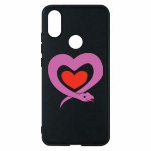 Etui na Xiaomi Mi A2 Cute snake heart
