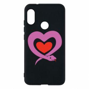 Etui na Mi A2 Lite Cute snake heart