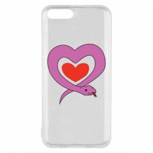 Etui na Xiaomi Mi6 Cute snake heart