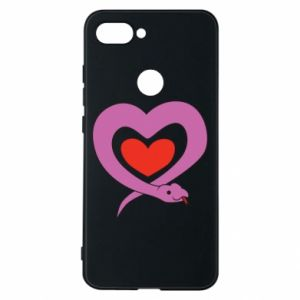 Etui na Xiaomi Mi8 Lite Cute snake heart