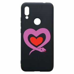 Etui na Xiaomi Redmi 7 Cute snake heart
