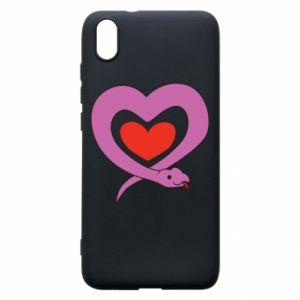Etui na Xiaomi Redmi 7A Cute snake heart
