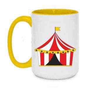 Two-toned mug 450ml The circus
