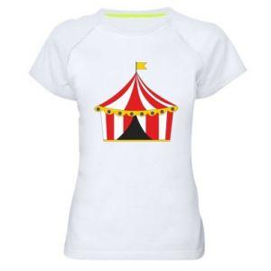 Women's sports t-shirt The circus