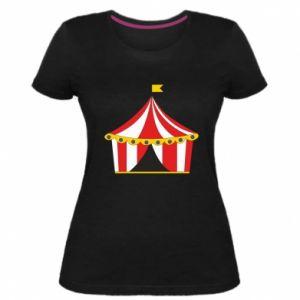 Damska premium koszulka Cyrk