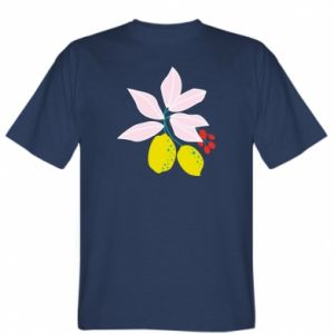 T-shirt Lemons on the branches
