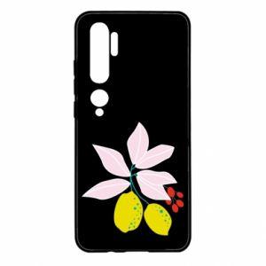 Etui na Xiaomi Mi Note 10 Cytryny na gałęziach