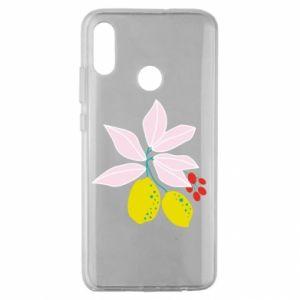 Etui na Huawei Honor 10 Lite Cytryny na gałęziach