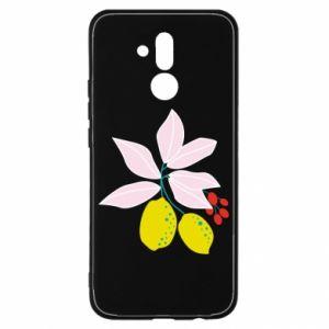 Etui na Huawei Mate 20 Lite Cytryny na gałęziach