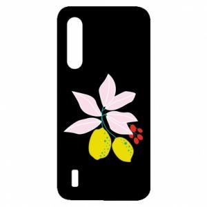 Etui na Xiaomi Mi9 Lite Cytryny na gałęziach