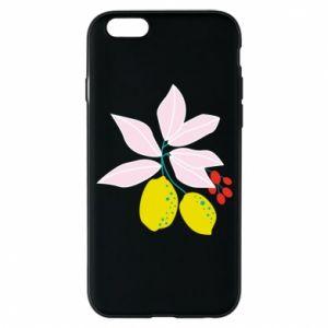 Etui na iPhone 6/6S Cytryny na gałęziach