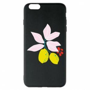 Etui na iPhone 6 Plus/6S Plus Cytryny na gałęziach