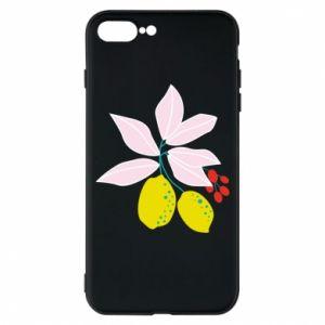 Etui na iPhone 8 Plus Cytryny na gałęziach