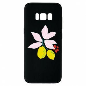 Etui na Samsung S8 Cytryny na gałęziach